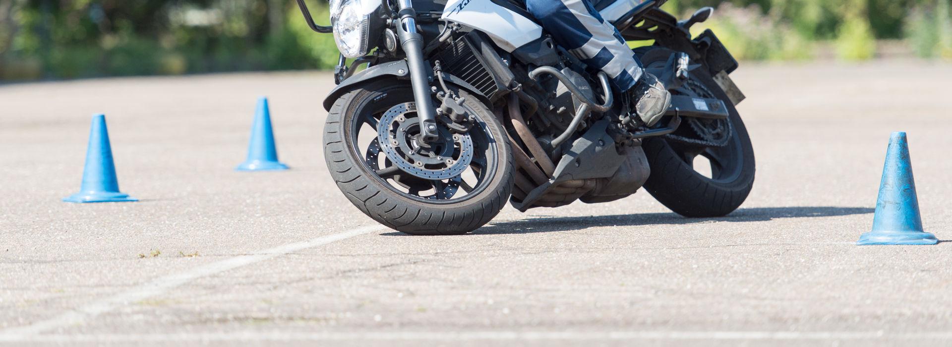 Motorrijbewijspoint Almere rijtest